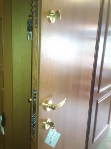 Drzwi kl.RC2 z dwoma zamkami gerda i lob